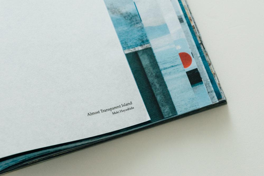 "Book dummy ""Almost Transparent Island"""