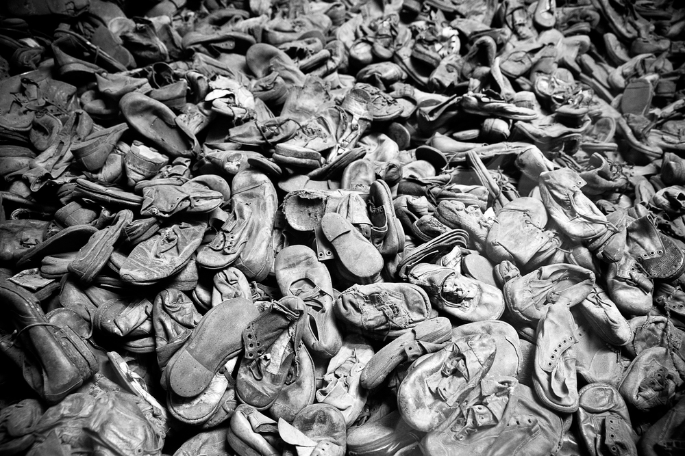 Little Feet |Auswitch, Poland April 2014 Children's shoes on display in the museum atAuswitch serve as a terrible reminder of the tragedy of WWII, and the depths to which we as a species have sunk in the past. Purchase printshere