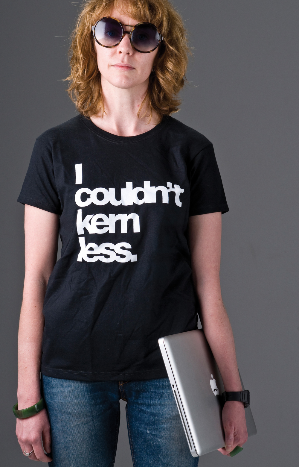 I Couldn't Kern Less T-Shirts available to purchase here