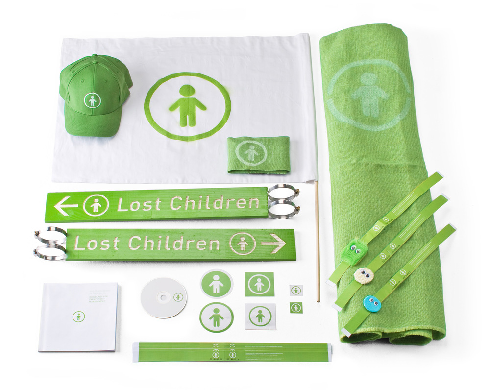 Lost Children Reunification System This project is the result of a year's research into the effects of short term separation anxiety on children who become temporarily separated from their parents at Major Public Events. The system was developed to address two main concerns: 1. The speed at which parents and children are reunited, and; 2. The stress and anxiety experienced by both parent and child Find out more here.