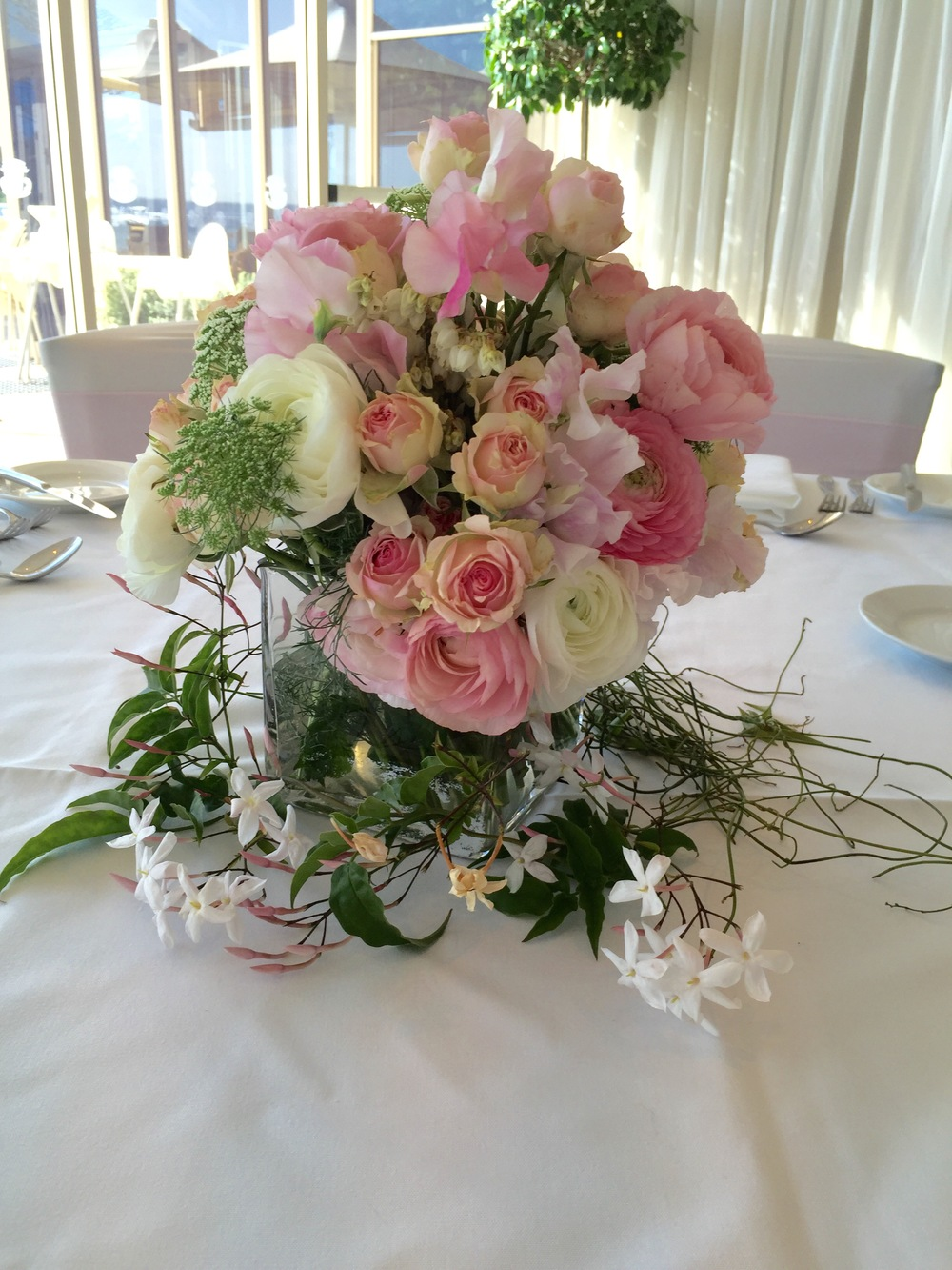 Long Reef Golf Club - October 2015  We were so happy with the beautiful table arrangements.  Everything just worked so well together. Thank you girls for all you attention to detail and making the day a very memorable one.  Jenny