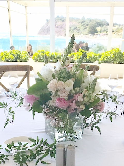Long Reef Golf Club - September 2017  I just wanted to say how wonderful the flowers looked for my mother in laws function last Sunday. When we walked into the function room it looked so pretty against the ocean backdrop. The flowers were gorgeous and still going strong at home two weeks after the event. Quite a few people commented on the lovely arrangement and thought the wrapping station was an excellent idea. My mother in law was so impressed. Thank you Copperbeech.  Sue Adams