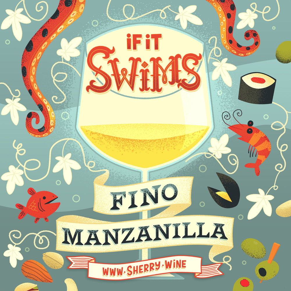 Pairing Fino and Manzanilla with food