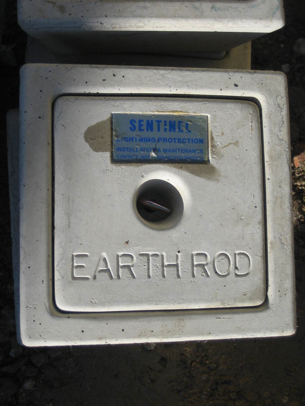 Earth Rod containment.JPG