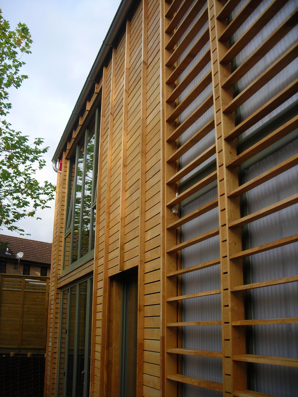 Timber Frame and Cladding.JPG