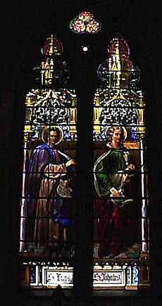 Saints Luke and John