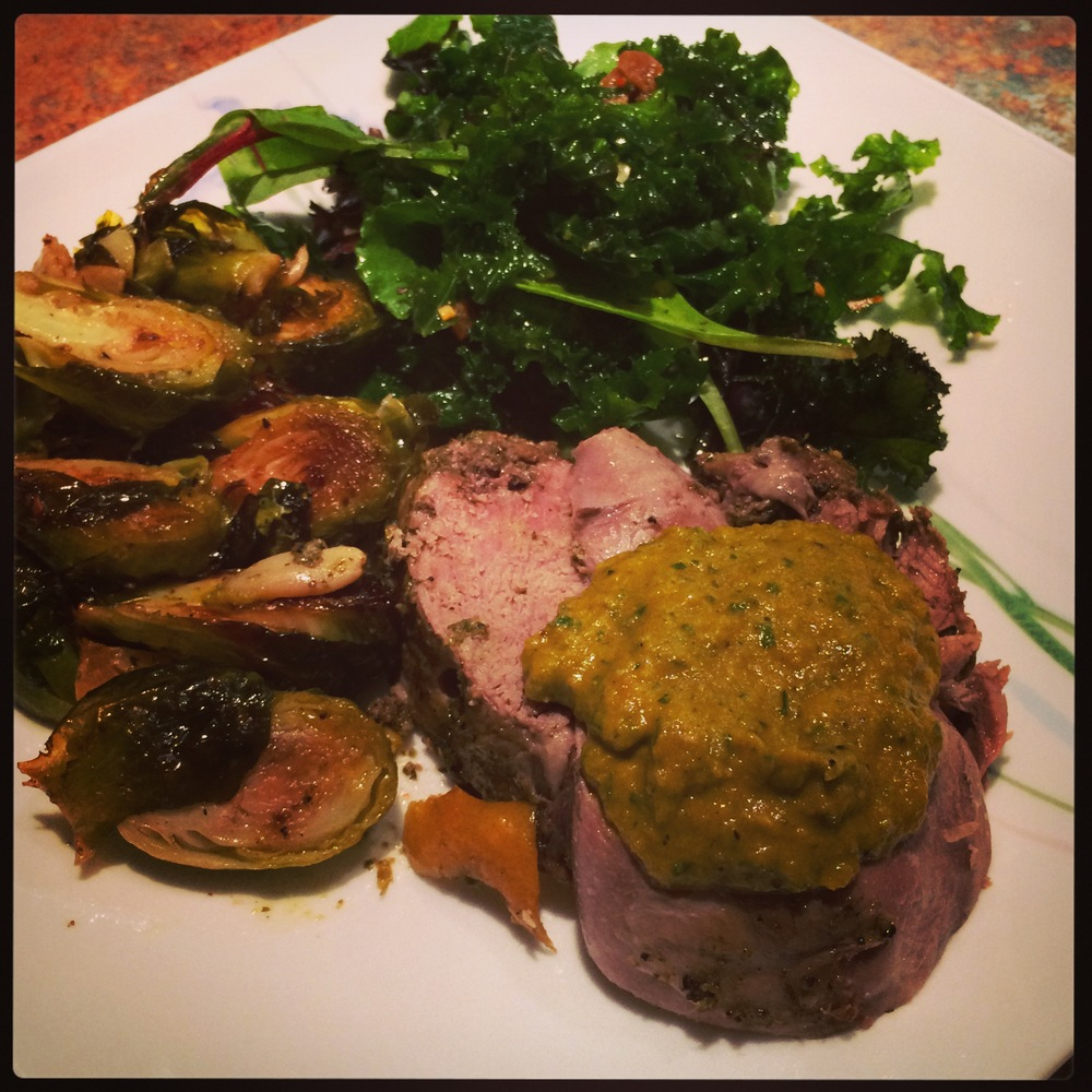 LEMON PARSLEY SPICED LAMB