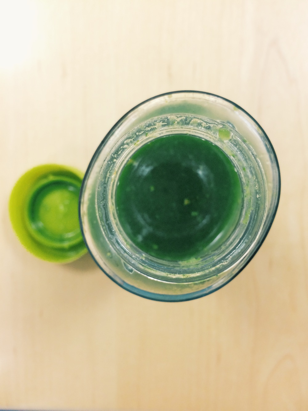 KALE CUCUMBER CELERY APPLE JUICE