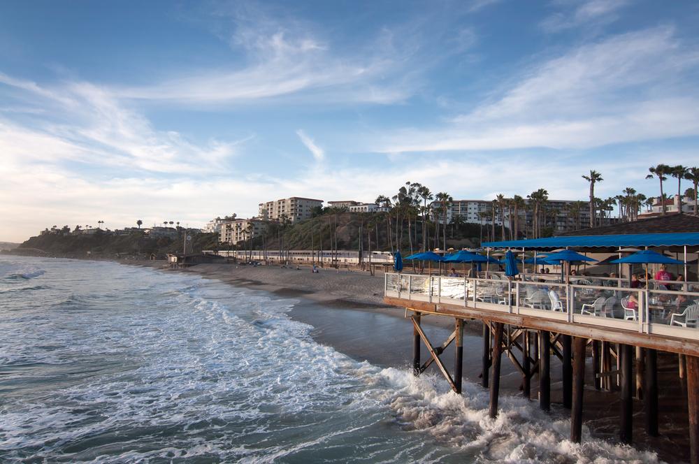 San Clemente Pier Stock Photo SC0017