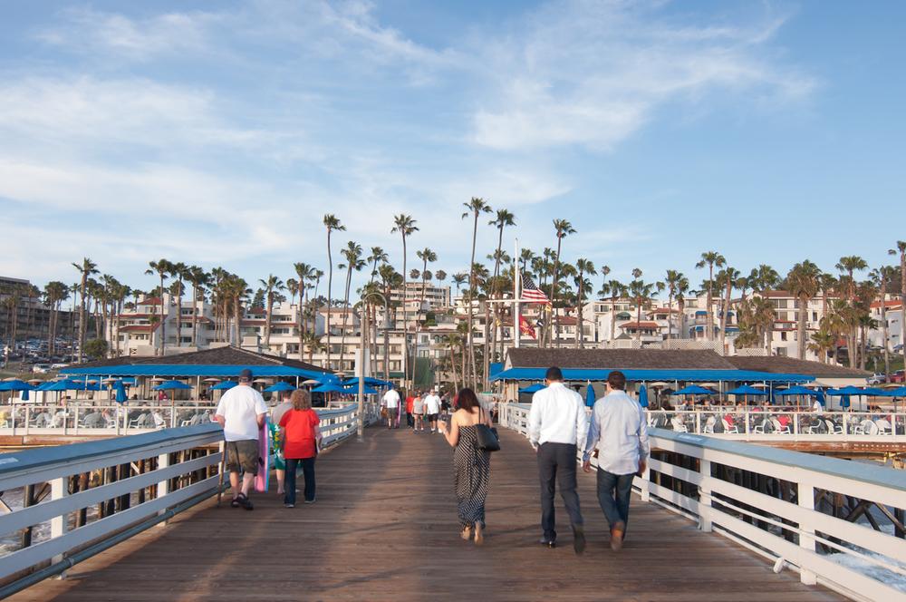San Clemente Pier Stock Photo SC0016