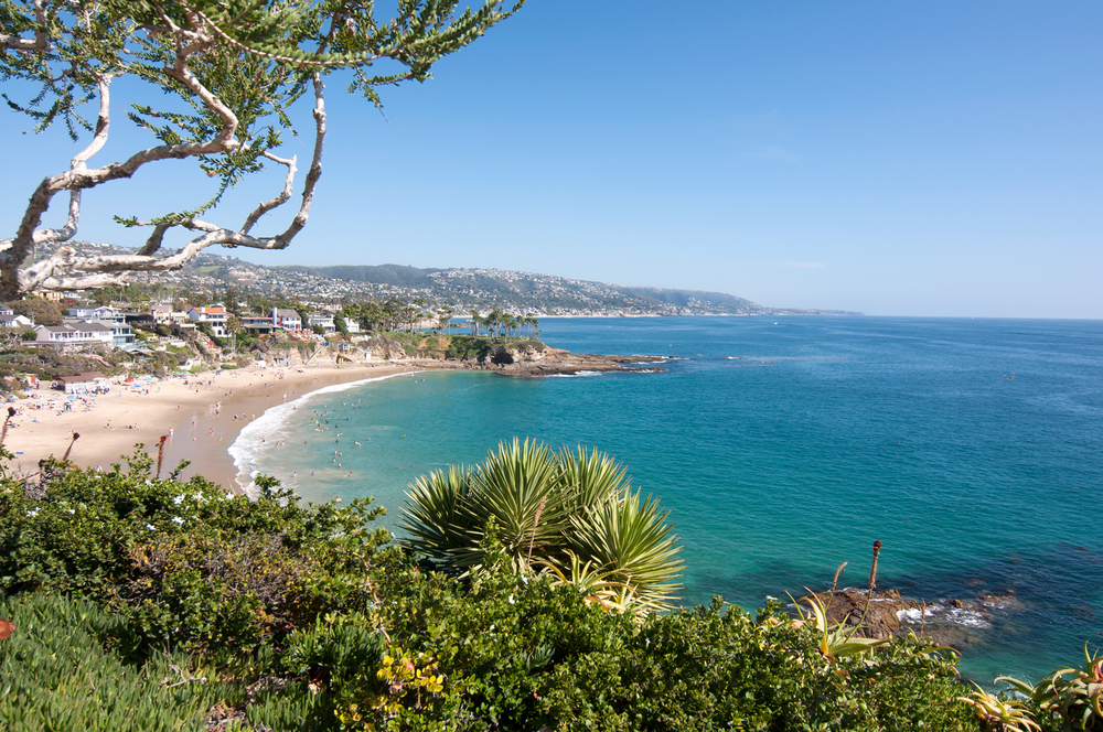 Laguna Beach Stock Photo LB0001