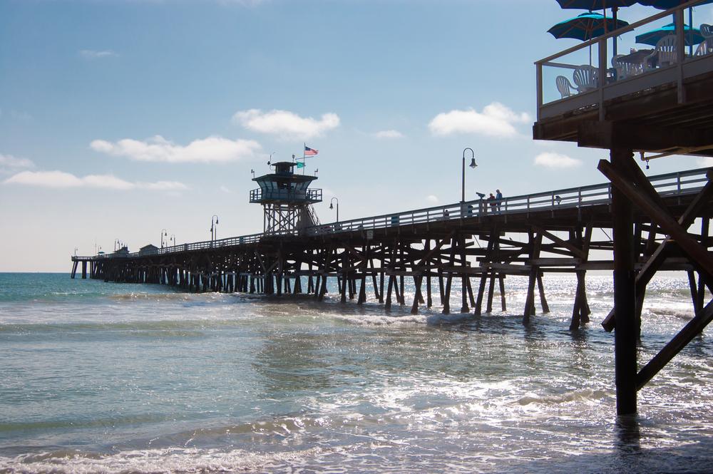 San Clemente Pier Stock Photo SC0005