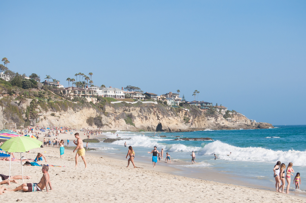 Laguna Beach Stock Photo LB0013