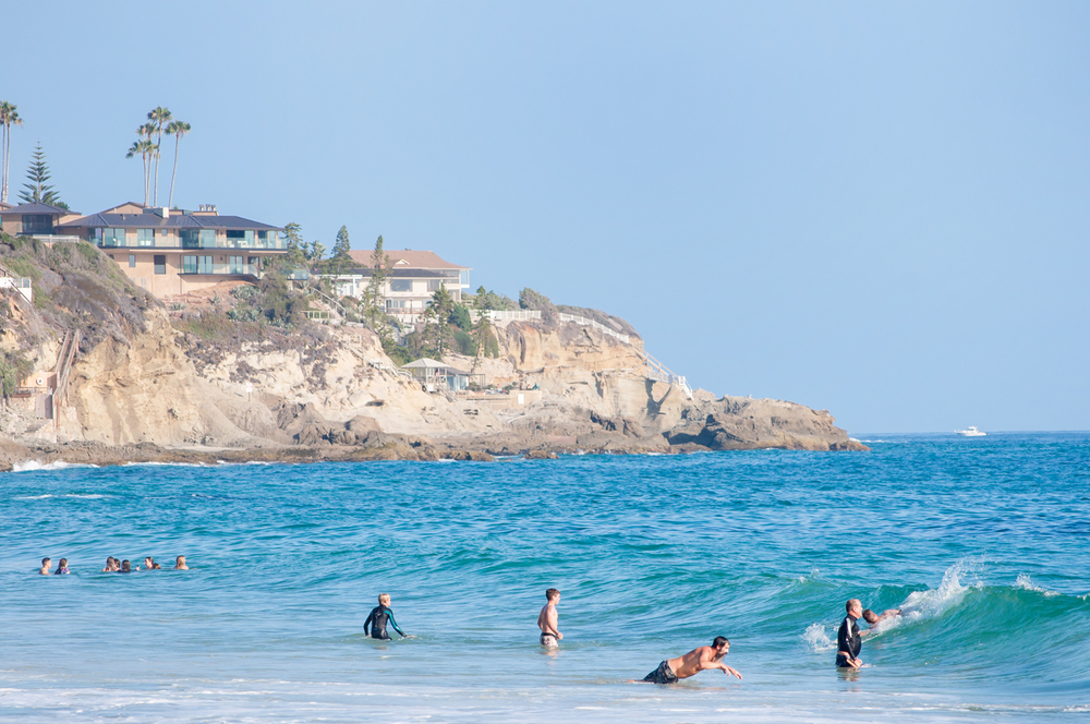 Laguna Beach Stock Photo LB0017