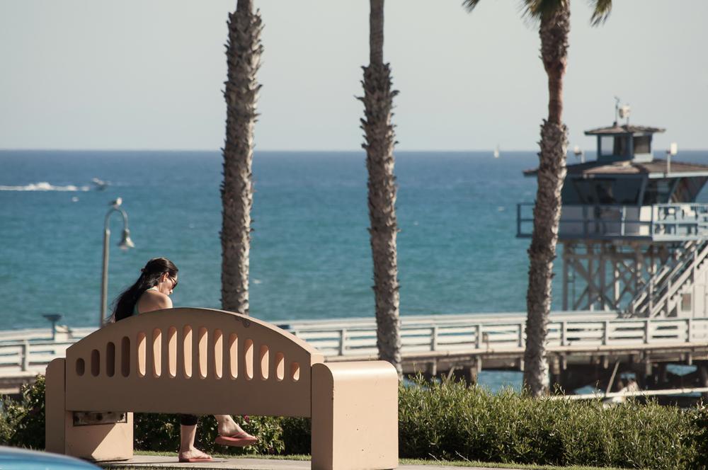 San Clemente Pier Stock Photo SC0052