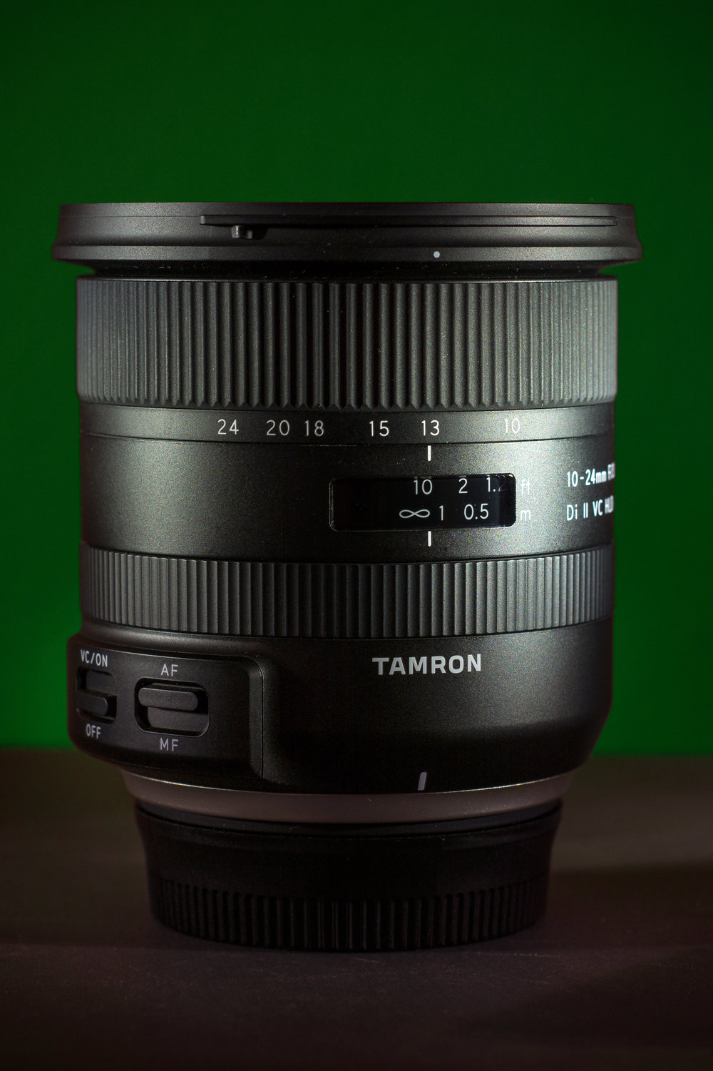 The new Tamron 10-24mm f/3.5-4.5 Di II VC HLD (model B023).