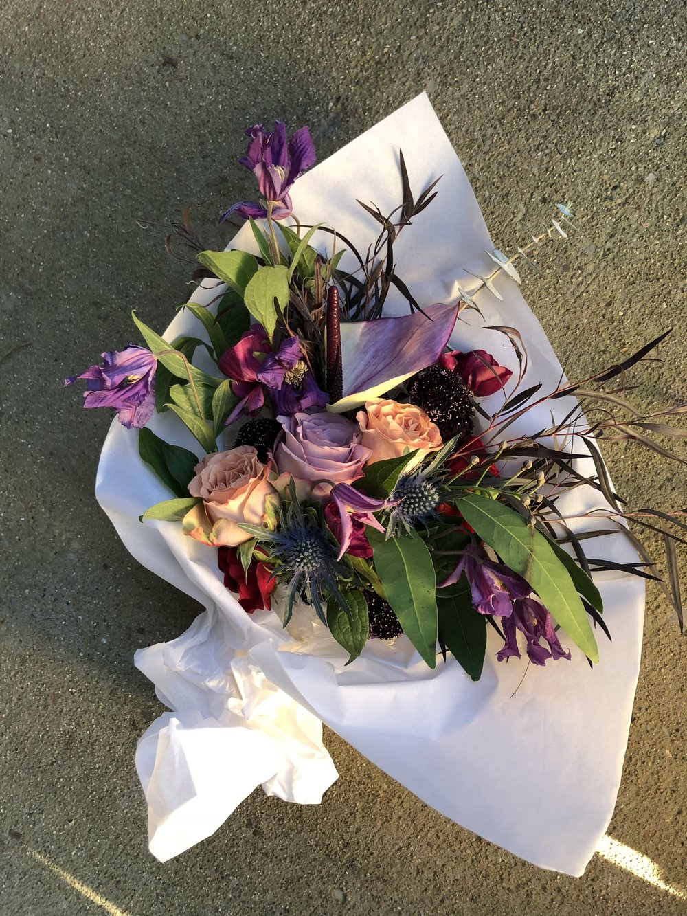 example: Large Wrapped Bouquet