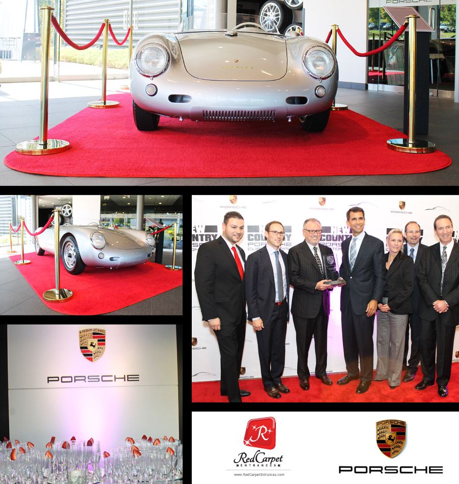 Porsche Red Carpet Event