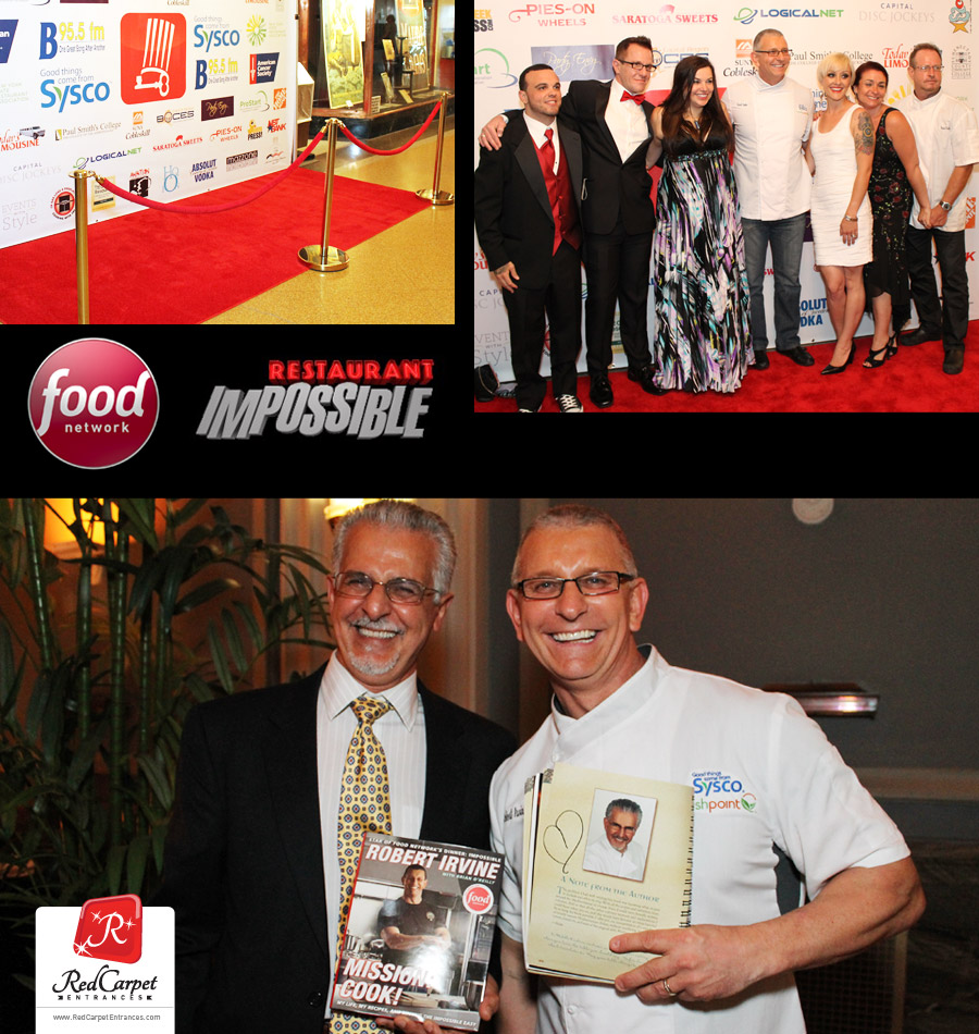 Chef Robert Irvine Red Carpet Event