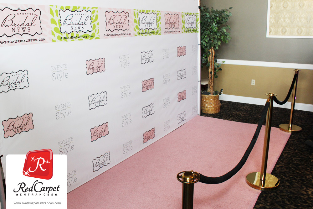 pink runner carpet