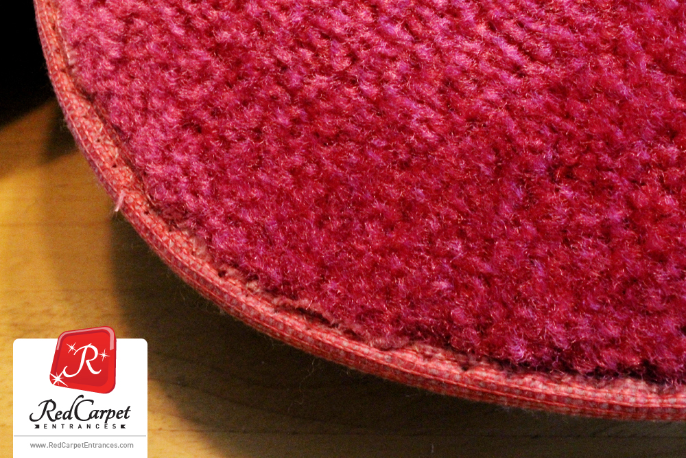 magenta carpet runner