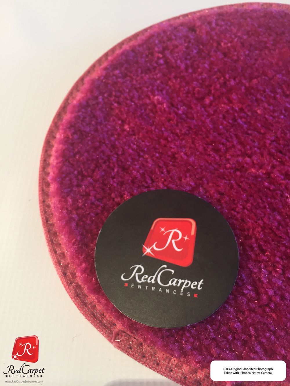 Hot Pink Event Rug