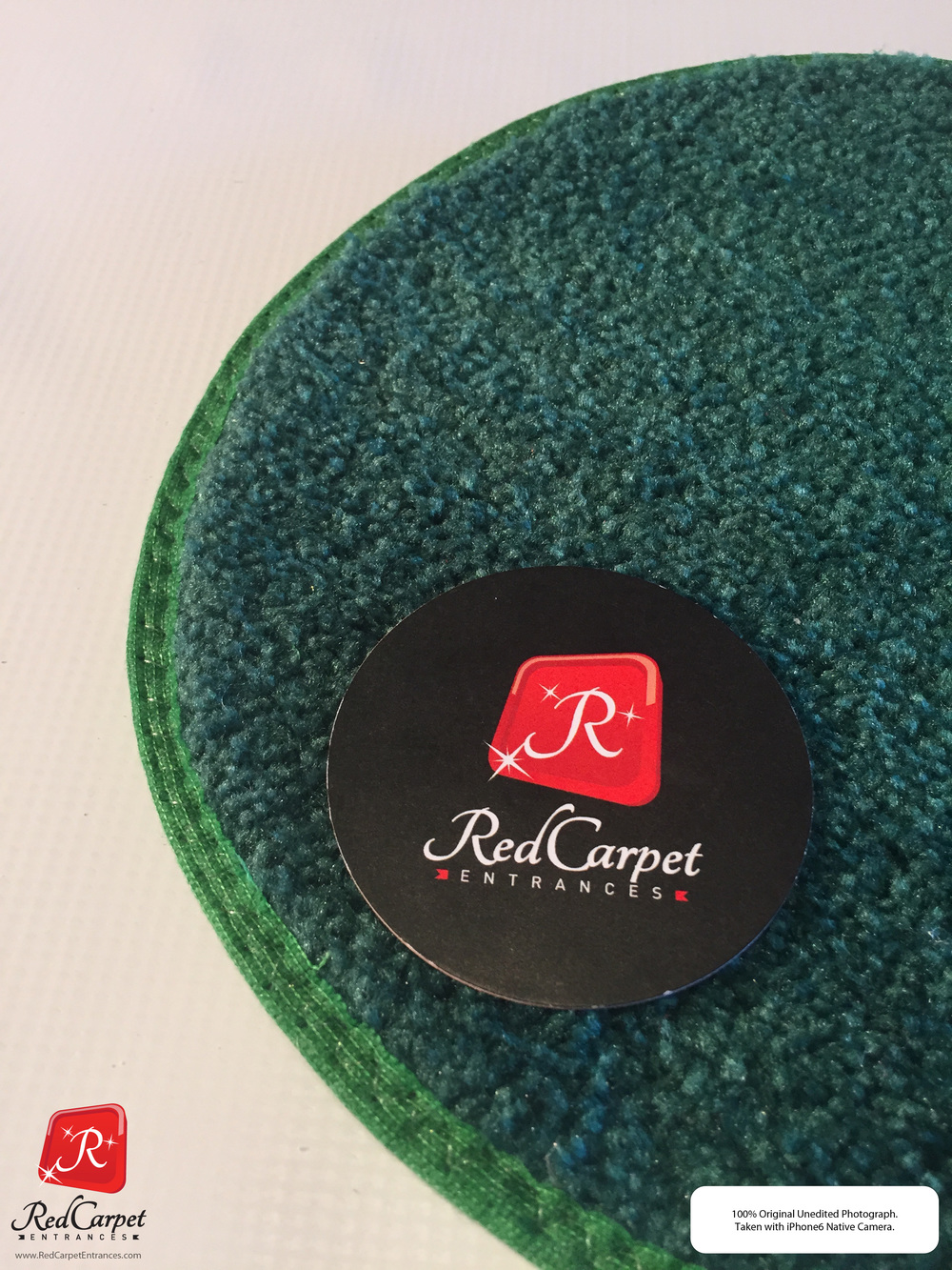 Emerald Green Event Carpet