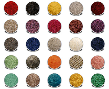 Tradeshow Carpet Samples