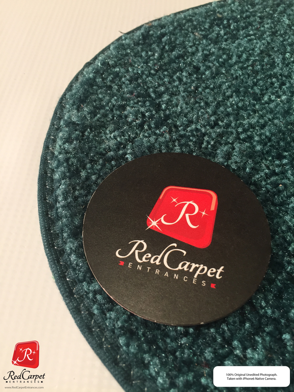 Teal Event Rug