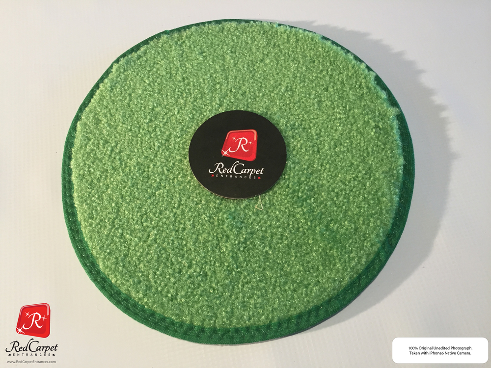 Lime Green Runner Rug