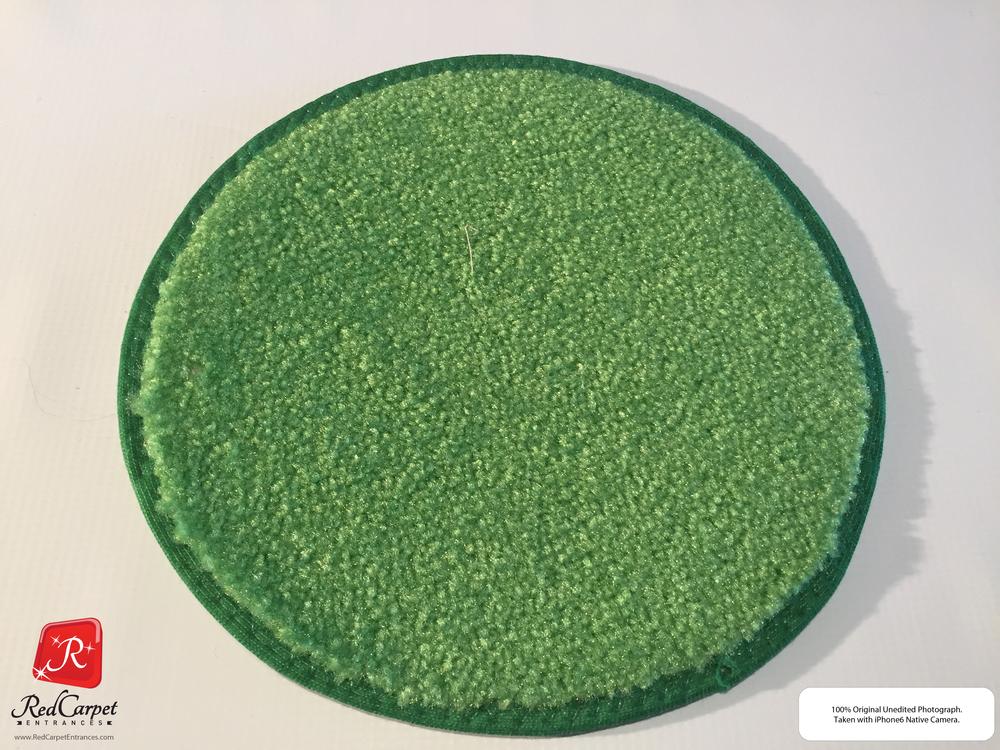 Neon Green Runner Rug