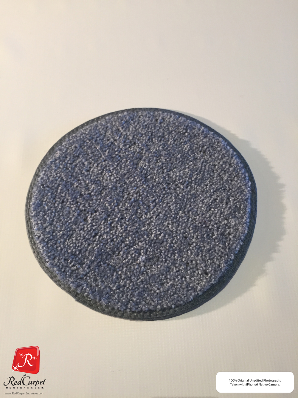 Gray Blue Carpet Runner