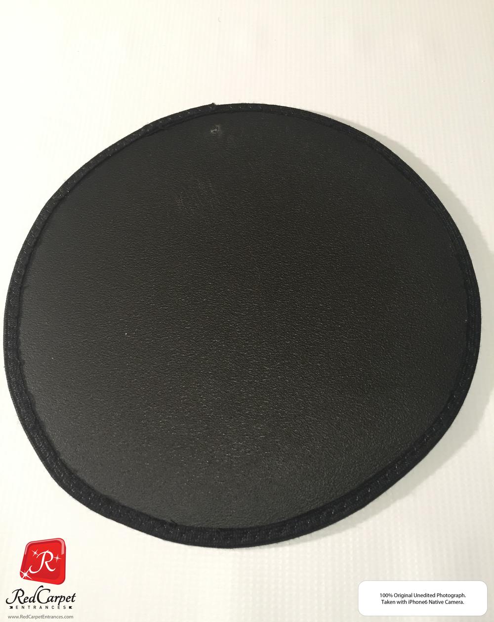 Vinyl Carpet Runner Black