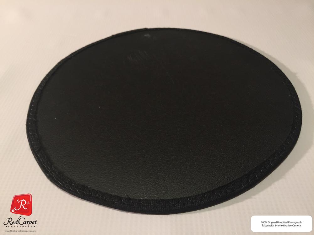 Black Vinyl Carpet Runner