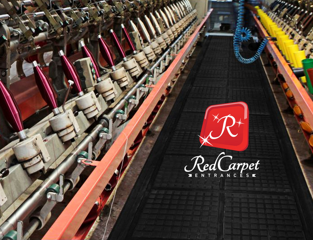 custom floor mat production