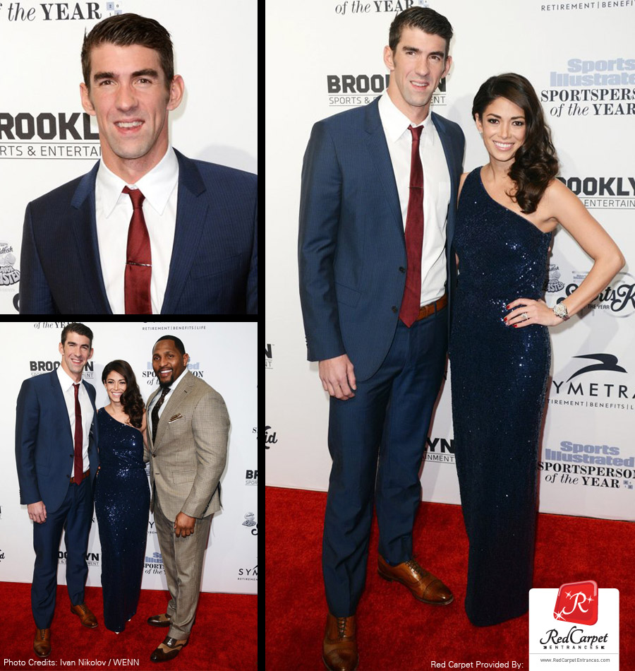Michael Phelps Sports Illustrated Red Carpet 2016