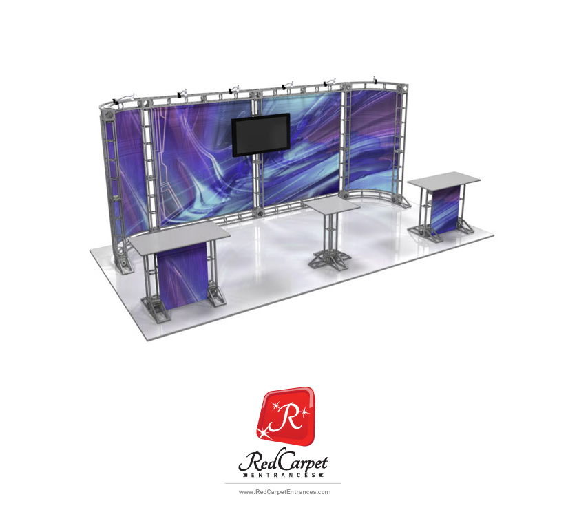10x20 Truss Display