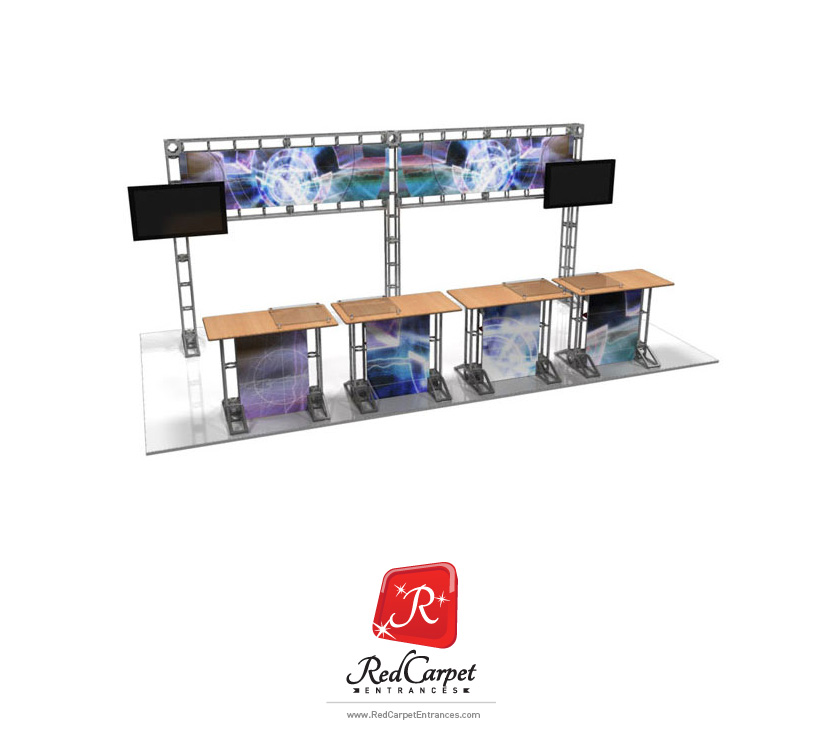 10x20 Truss Exhibit