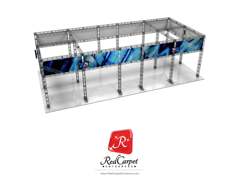 20x20 Truss Display