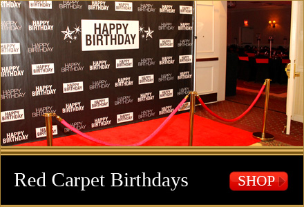 red carpet birthday backdrops