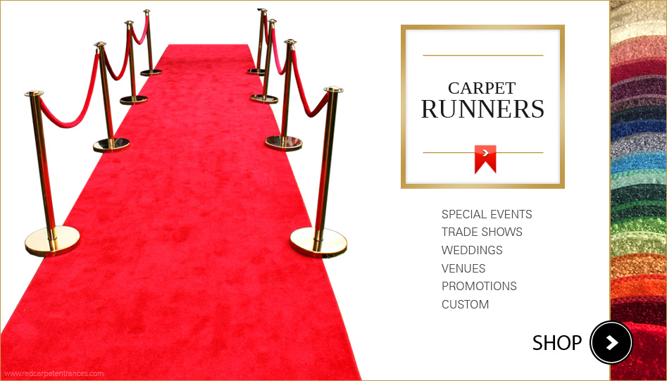 Red Carpet Runners