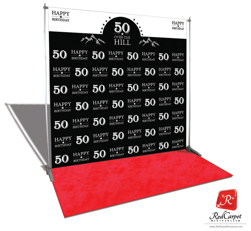 Over The Hill 50th Birthday Backdrop Red Carpet Kit Black 8x8 besides Piping Nozzles likewise Au furthermore Reception Desks likewise Cool Perler Bead Patterns. on pipe logo designs