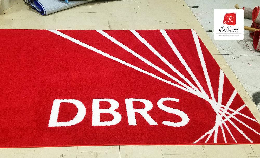 special event logo rug