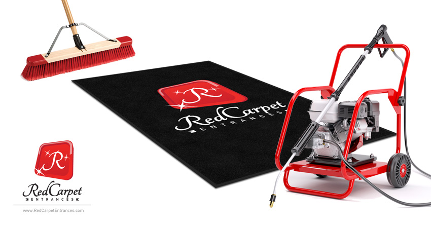How To Clean Logo Mat