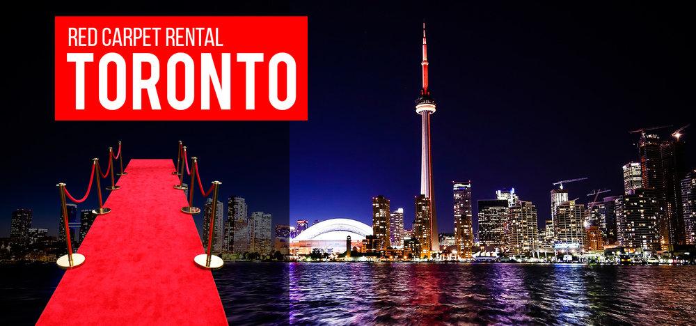 Red Carpet Rental Toronto