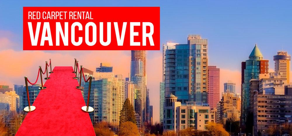 Red Carpet Rental Vancouver