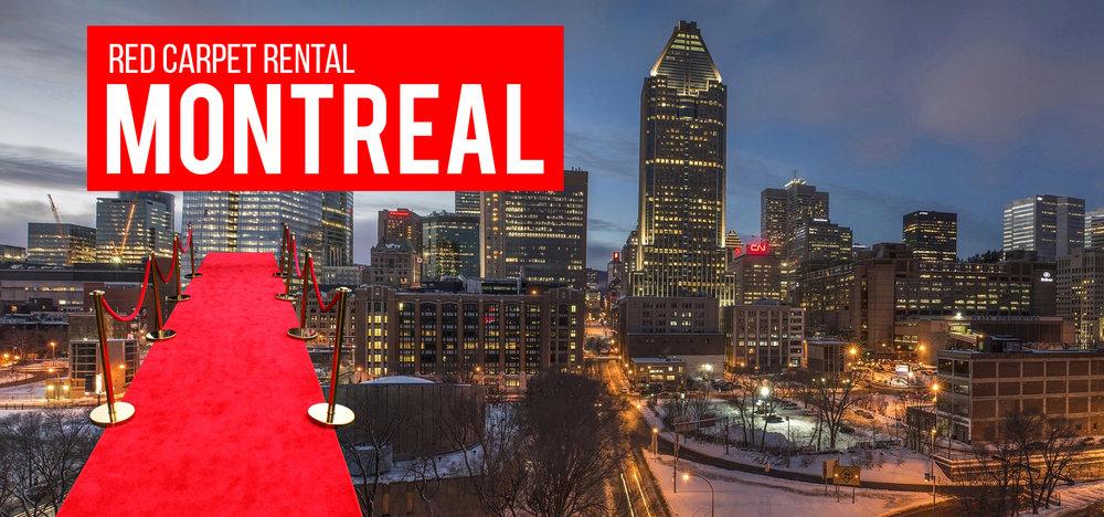 Red Carpet Rental Montreal Canada