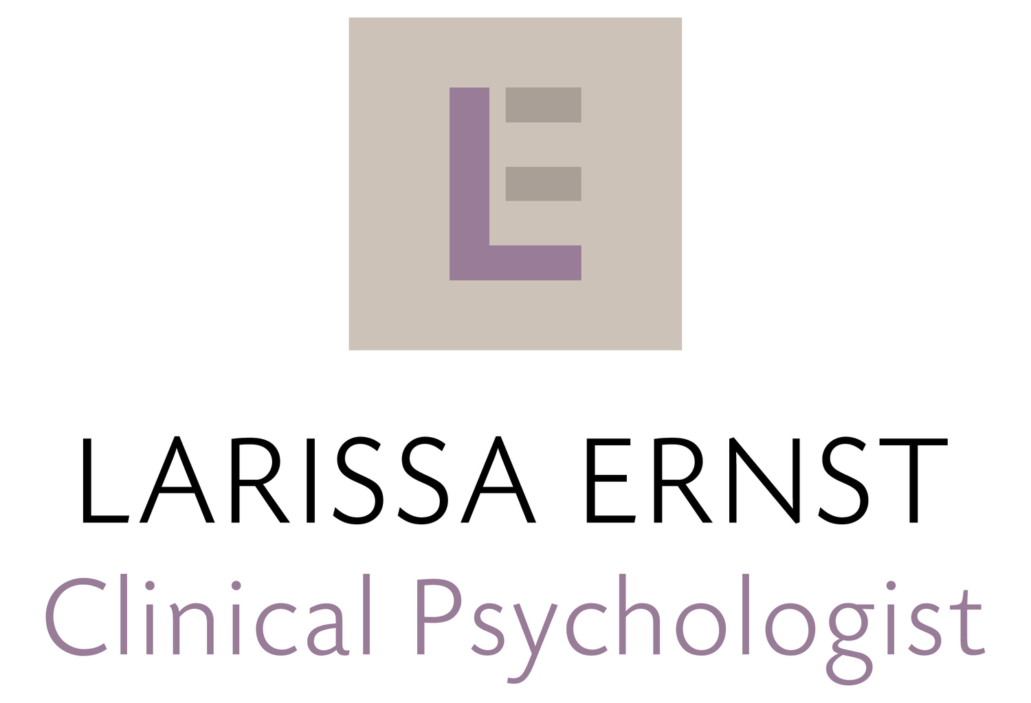 Larissa Ernst | Clinical Psychologist