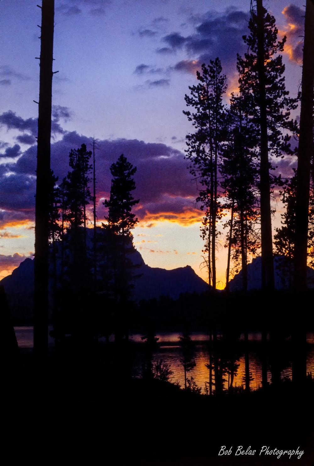 Sunset on Jackson Lake, Grand Teton NP