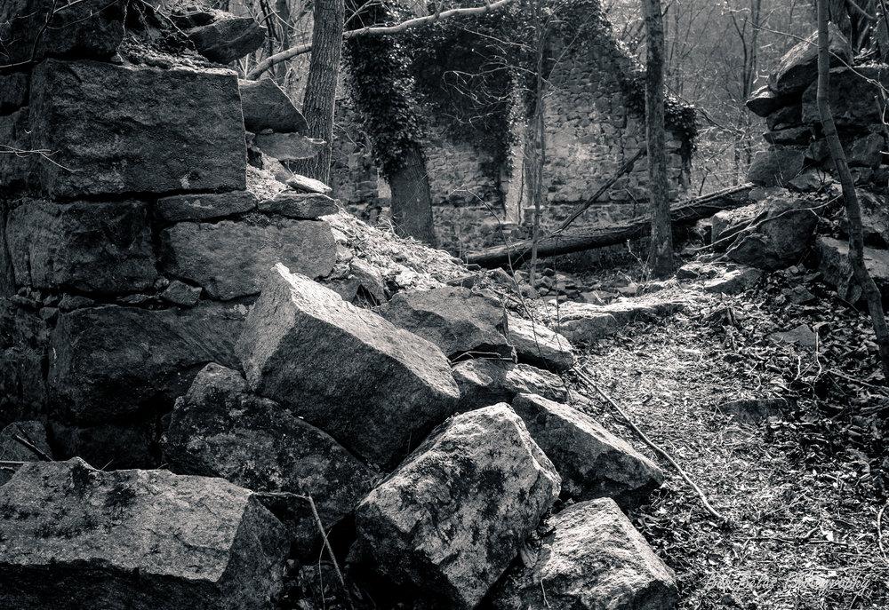 St. Stanislaus Stones, monochrome